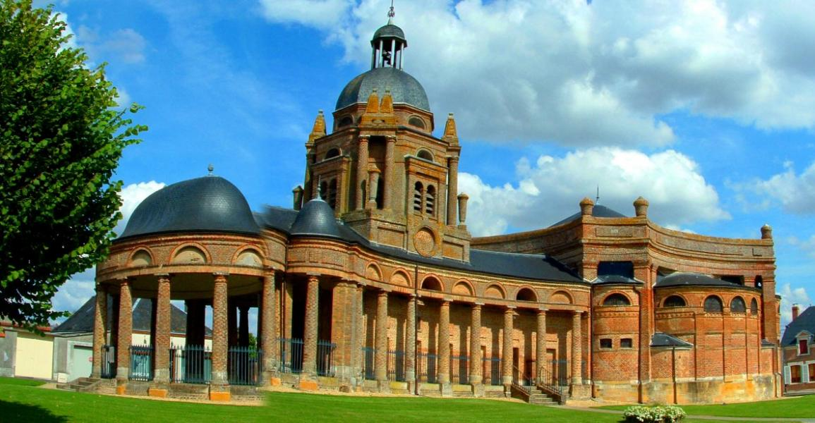 Eglise baroque d asfeld